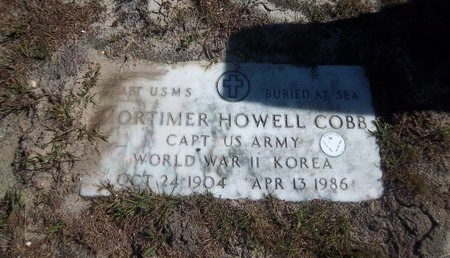 COB (WWII), MORTIMER HOWELL - Suffolk County, New York | MORTIMER HOWELL COB (WWII) - New York Gravestone Photos