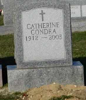 CONDRA, CATHERINE - Suffolk County, New York | CATHERINE CONDRA - New York Gravestone Photos