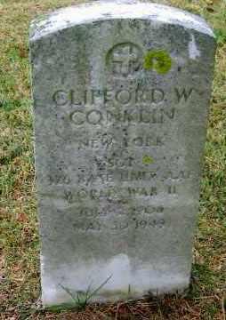 CONKLIN, CLIFFORD W - Suffolk County, New York | CLIFFORD W CONKLIN - New York Gravestone Photos