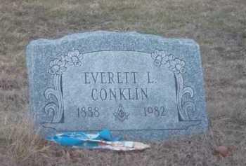 CONKLIN, EVERETT L. - Suffolk County, New York | EVERETT L. CONKLIN - New York Gravestone Photos