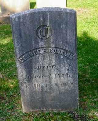 CONKLIN, GEORGE E - Suffolk County, New York   GEORGE E CONKLIN - New York Gravestone Photos