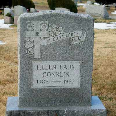 CONKLIN, HELEN - Suffolk County, New York | HELEN CONKLIN - New York Gravestone Photos