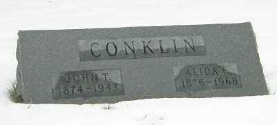 CONKLIN, JOHN T - Suffolk County, New York | JOHN T CONKLIN - New York Gravestone Photos