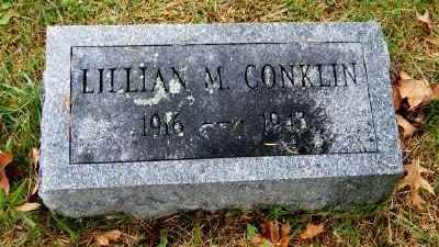 CONKLIN, LILLIAN M. - Suffolk County, New York   LILLIAN M. CONKLIN - New York Gravestone Photos