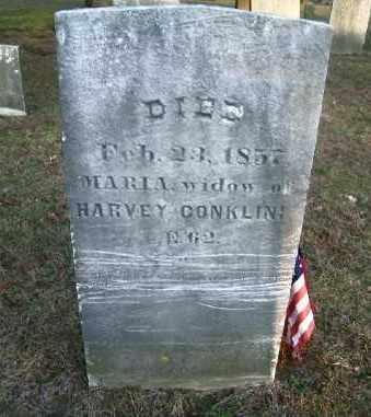 CONKLIN, MARIA - Suffolk County, New York   MARIA CONKLIN - New York Gravestone Photos