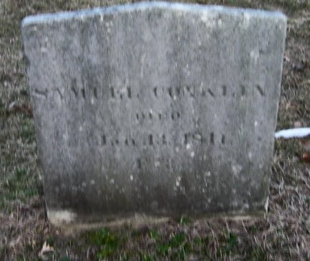 CONKLIN, SAMUEL - Suffolk County, New York | SAMUEL CONKLIN - New York Gravestone Photos