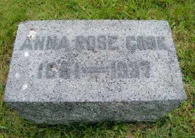 COOK, ANNA ROSE - Suffolk County, New York | ANNA ROSE COOK - New York Gravestone Photos