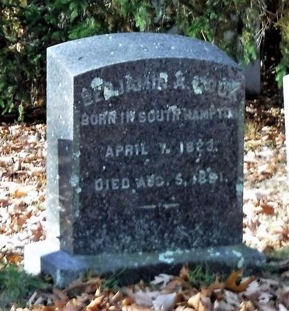 COOK, BENJAMIN A - Suffolk County, New York | BENJAMIN A COOK - New York Gravestone Photos