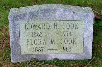 COOK, FLORA M. - Suffolk County, New York | FLORA M. COOK - New York Gravestone Photos