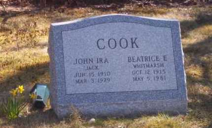 COOK, JOHN - Suffolk County, New York | JOHN COOK - New York Gravestone Photos