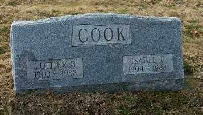 COOK, LUTHER B - Suffolk County, New York | LUTHER B COOK - New York Gravestone Photos