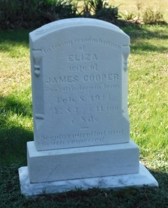 COOPER, ELIZA - Suffolk County, New York | ELIZA COOPER - New York Gravestone Photos