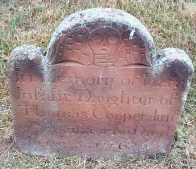 COOPER, MARY - Suffolk County, New York   MARY COOPER - New York Gravestone Photos