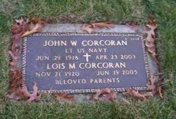 CORCORAN (SERV), JOHN W - Suffolk County, New York | JOHN W CORCORAN (SERV) - New York Gravestone Photos