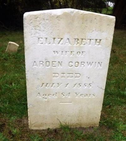 CORWIN, ELIZABETH - Suffolk County, New York | ELIZABETH CORWIN - New York Gravestone Photos