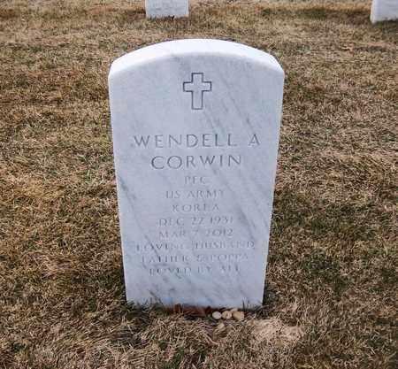 CORWIN (KOR), WENDELL A - Suffolk County, New York | WENDELL A CORWIN (KOR) - New York Gravestone Photos