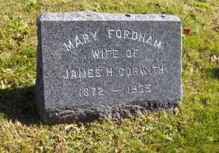 CORWITH, MARY - Suffolk County, New York | MARY CORWITH - New York Gravestone Photos
