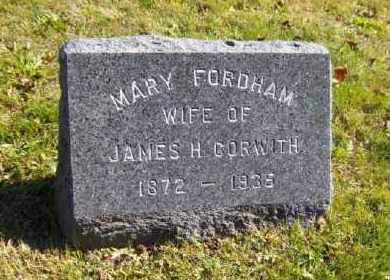 CORWITH, MARY - Suffolk County, New York | MARY CORWITH - New York Gravestone Photos