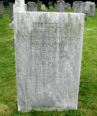 CORWITH, PHEBE - Suffolk County, New York | PHEBE CORWITH - New York Gravestone Photos