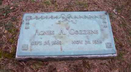 COZZENS, AGNES A. - Suffolk County, New York | AGNES A. COZZENS - New York Gravestone Photos