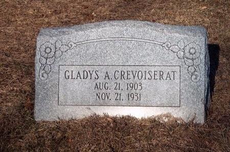 CREVOISERAT, GLADYS A - Suffolk County, New York | GLADYS A CREVOISERAT - New York Gravestone Photos
