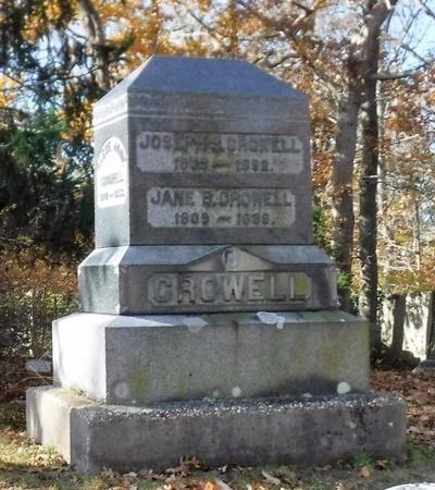 CROWELL, JANE B - Suffolk County, New York | JANE B CROWELL - New York Gravestone Photos