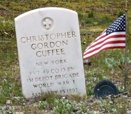 CUFFEE, CHRISTOPHER GORDON - Suffolk County, New York   CHRISTOPHER GORDON CUFFEE - New York Gravestone Photos