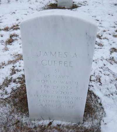 CUFFEE (WWII), JAMES A - Suffolk County, New York | JAMES A CUFFEE (WWII) - New York Gravestone Photos