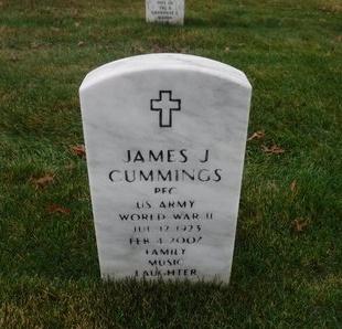 CUMMINGS, JAMES J - Suffolk County, New York | JAMES J CUMMINGS - New York Gravestone Photos