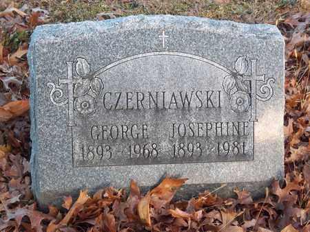 CZERNIAWSKI, GEORGE - Suffolk County, New York | GEORGE CZERNIAWSKI - New York Gravestone Photos