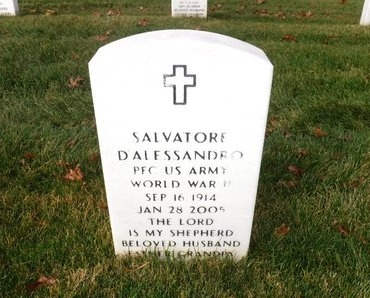 D'ALESSANDRO (WWII), SALVATORE - Suffolk County, New York | SALVATORE D'ALESSANDRO (WWII) - New York Gravestone Photos