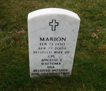 DATTOMA, MARION - Suffolk County, New York | MARION DATTOMA - New York Gravestone Photos