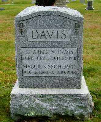 DAVIS, CHARLES N. - Suffolk County, New York | CHARLES N. DAVIS - New York Gravestone Photos