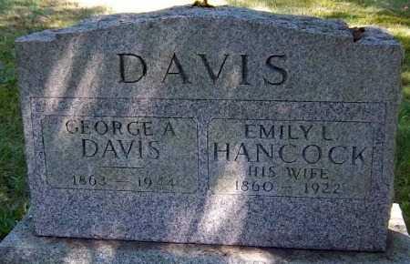 DAVIS, EMILY L. - Suffolk County, New York | EMILY L. DAVIS - New York Gravestone Photos