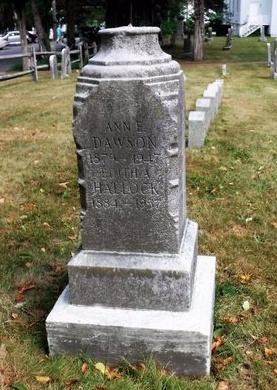 DAWSON, ANN E - Suffolk County, New York | ANN E DAWSON - New York Gravestone Photos