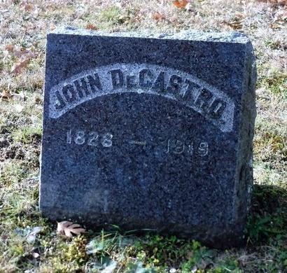 DE CASTRO, JOHN - Suffolk County, New York   JOHN DE CASTRO - New York Gravestone Photos