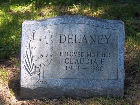 DELANEY, CLAUDIA E - Suffolk County, New York | CLAUDIA E DELANEY - New York Gravestone Photos