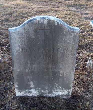 WALSH, JOAN HAMILTON - Suffolk County, New York   JOAN HAMILTON WALSH - New York Gravestone Photos