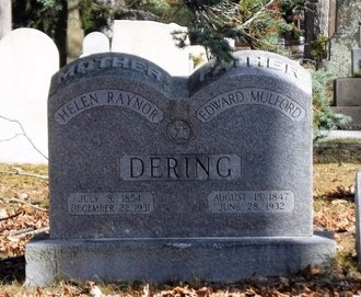 DERING, EDWARD MULFORD - Suffolk County, New York | EDWARD MULFORD DERING - New York Gravestone Photos