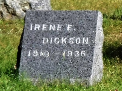DICKSON, IRENE E - Suffolk County, New York | IRENE E DICKSON - New York Gravestone Photos