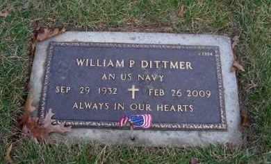 DITTMER (SERV), WILLIAM P - Suffolk County, New York | WILLIAM P DITTMER (SERV) - New York Gravestone Photos