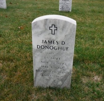 DONOGHUE (SERV), JAMES D - Suffolk County, New York | JAMES D DONOGHUE (SERV) - New York Gravestone Photos
