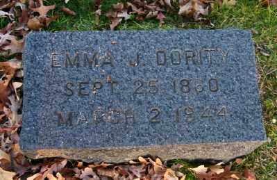 DORITY, EMMA J - Suffolk County, New York | EMMA J DORITY - New York Gravestone Photos