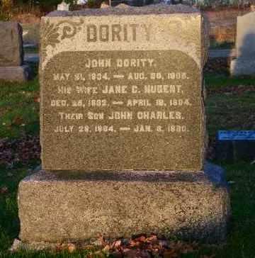 DORITY, JOHN CHARLES - Suffolk County, New York | JOHN CHARLES DORITY - New York Gravestone Photos