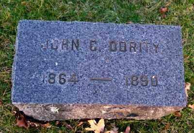 DORITY, JOHN C - Suffolk County, New York | JOHN C DORITY - New York Gravestone Photos