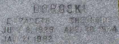 DOROSKI, THEODORE - Suffolk County, New York | THEODORE DOROSKI - New York Gravestone Photos