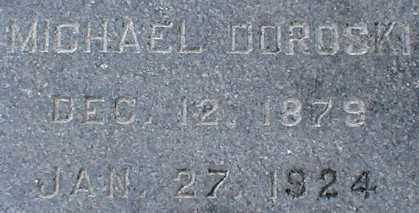 DOROSKI, MICHAEL - Suffolk County, New York | MICHAEL DOROSKI - New York Gravestone Photos
