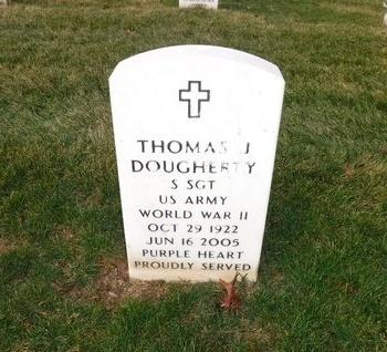 DOUGHERTY (WWII), THOMAS J - Suffolk County, New York | THOMAS J DOUGHERTY (WWII) - New York Gravestone Photos