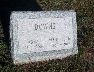 DOWNS, WENDELL - Suffolk County, New York   WENDELL DOWNS - New York Gravestone Photos