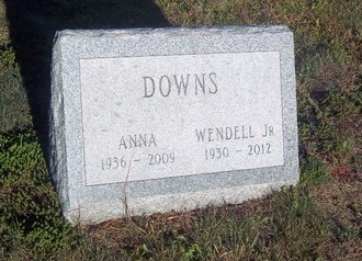 DOWNS, ANNA - Suffolk County, New York | ANNA DOWNS - New York Gravestone Photos